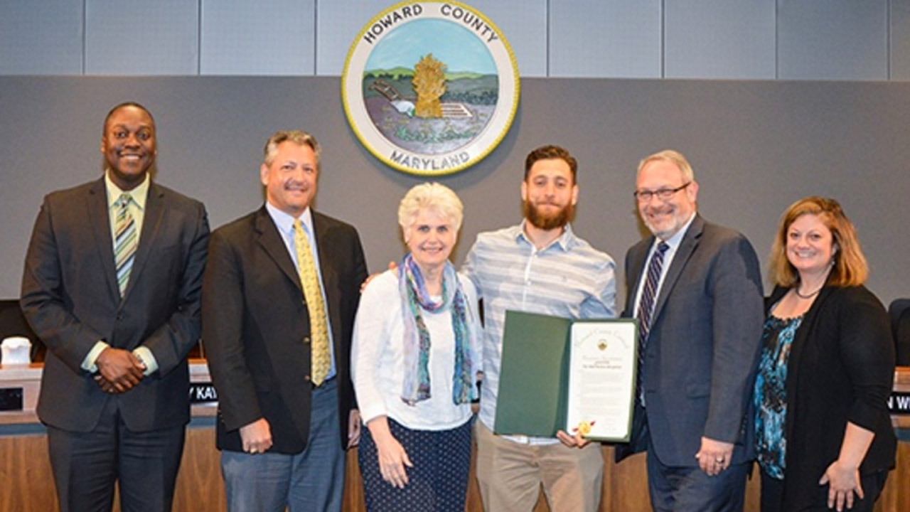 Howard County Council Honors_greeNEWit press release