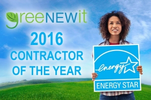 greeNEWit is named 2016 Energy Star Contractor of the Year