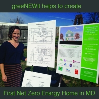 greeNEWit help create first Net Zero Home maryland